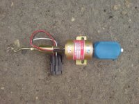Электромагнитный клапан остановки двигателя