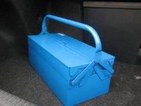Ящик металлический для инструментов различных конфигураций