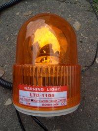 Проблесковый маячок (оранжевый)