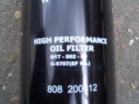 Фильтр масляный (D17-002-40)